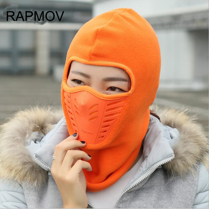 winter Fleece Warm Balaclava  Hat Motorcycle Windproof balaclava face mask Hat Neck Helmet Beanies Unisex Bicycle Thermal hats cuhakci 2017 winter heating neck fleece hat headwear winter skiing ear windproof face mask motorcycle bicycle scarf
