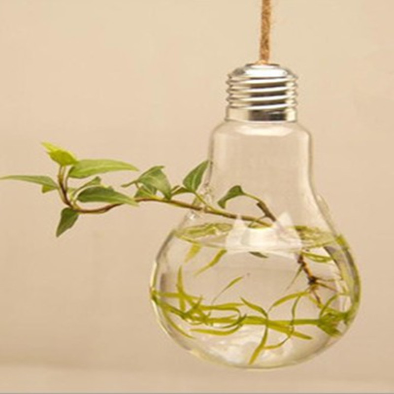 Hydroponic Glass Bulb Vase Home Decoration Gifts In Vases From Home