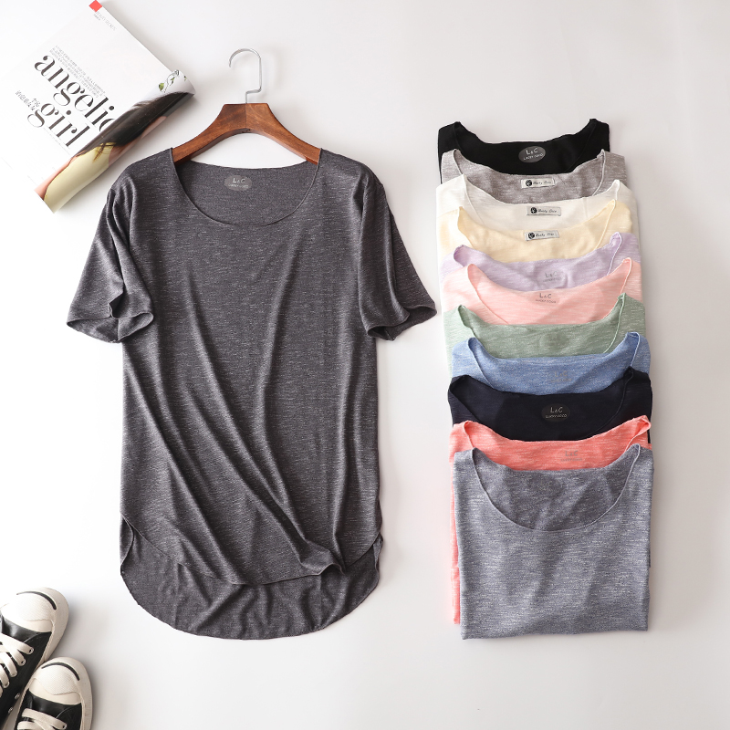 100% Cotton Summer Fitness New Short Sleeve   T     Shirt   Harajuku Loose Model Women   T  -  shirt   Casual O-neck Slim Fashion Woman Clothes