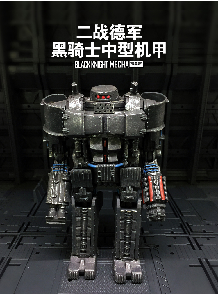 JOY TOY 1:27 action figure robot Black Knight Mecha toy for chlidren Free shipping SA062 free shipping genuine joy toy 1 27 action figure robot military soldier set a birthday present simple packaging