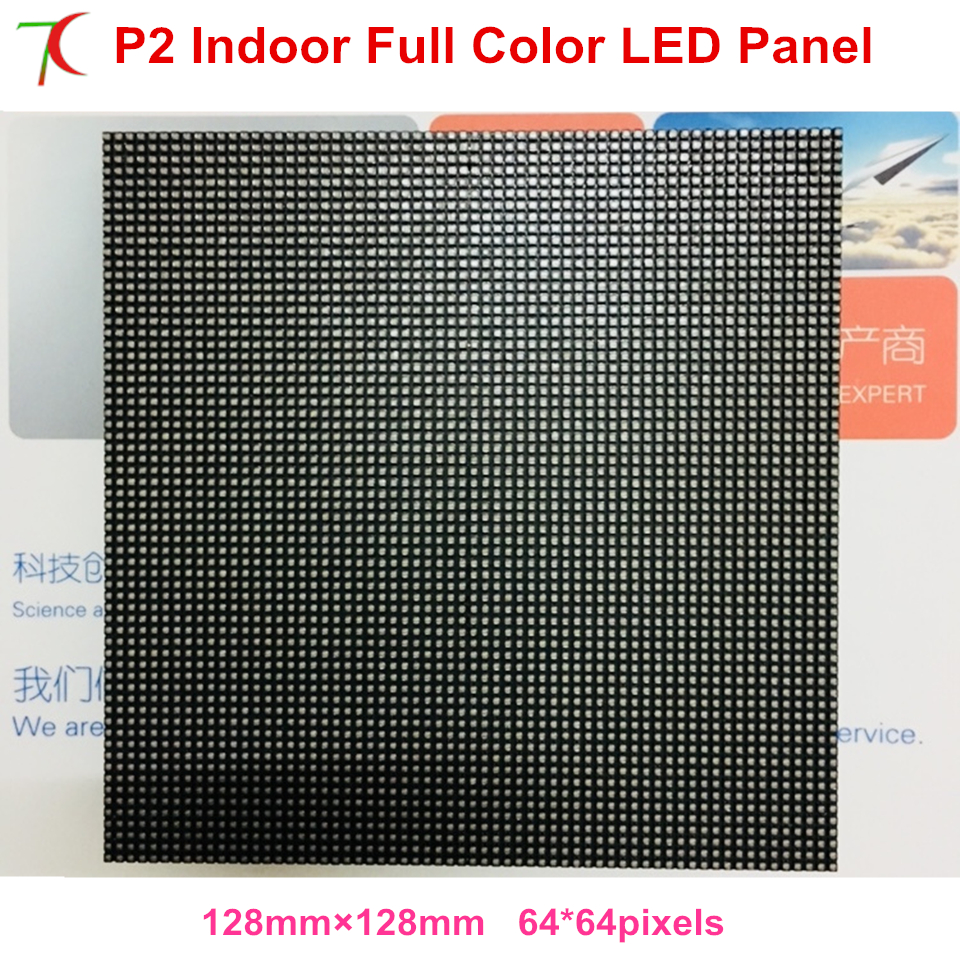 Free Shipping Indoor Led Display Screen Frull Color Led Module ,HD P2  Full Color Display Screen Module
