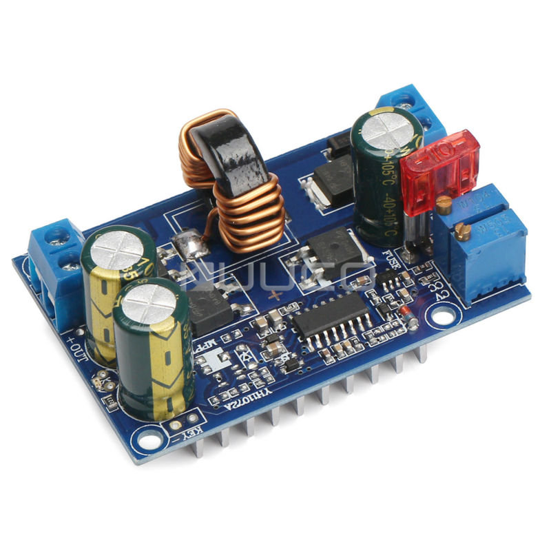 5A Auto Buck Boost Converter DC5~32V to 1.25~20V Step Up/Down Converter/Regulate Power Supply/LED Driver/DC Adapter 5pcs lot intersil isl8121irz isl8121qfn 3v to 20v two phase buck pwm controller with integrated 4a mosfet drivers