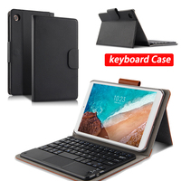 Case For Xiaomi MiPad 4 Mi Pad4 Protective Cover Wireless Bluetooth keyboard PU Leather MiPad 4 Mi Pad 8 Tablet Protector cases