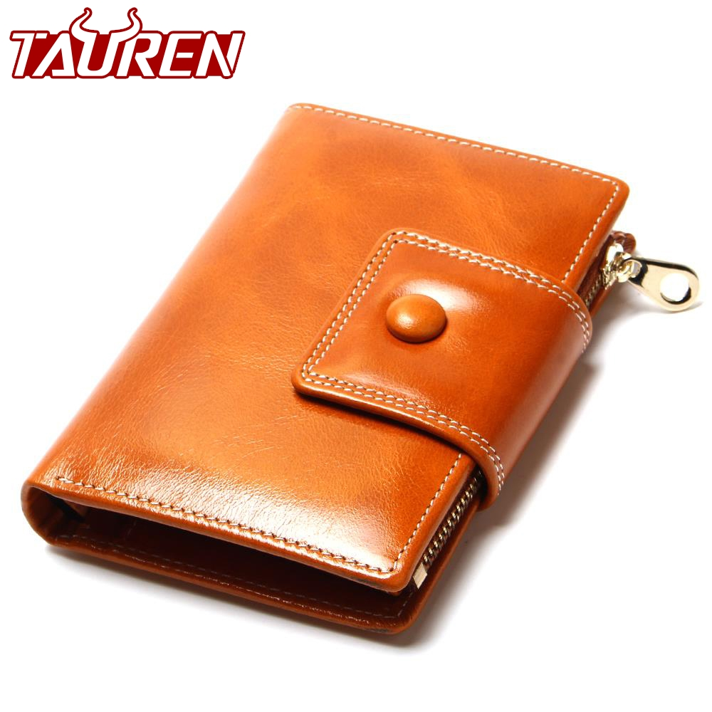 2018 New Fashion Wallets Casual Oil Wax Wallet Women Purse Clutch Bag Brand Leather Long Wallet Design Hand Bags For Women Purse new oil wax leather men s wallet long retro business cowhide wallet zipper hand bag 2016 high quality purse clutch bag page 8
