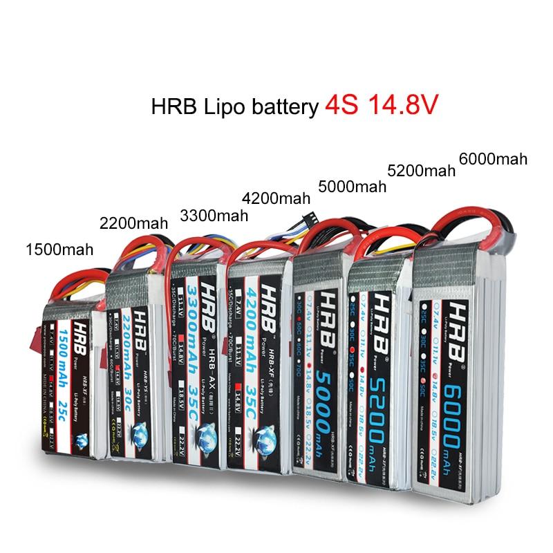 HRB 3S 11.1V 1800mAh 25C Lipo