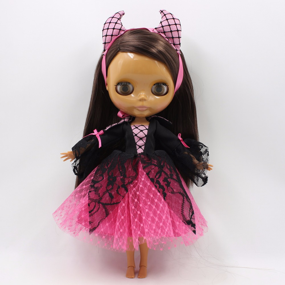 Neo Blythe Doll Halloween Clothes Vampire Dress 3