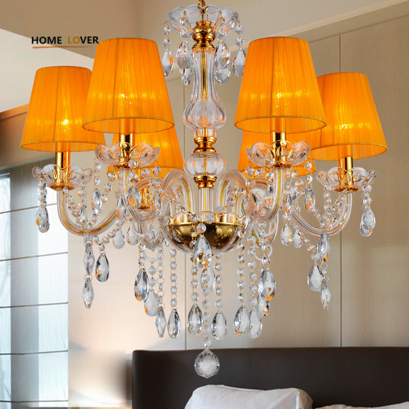 Modern Crystal Chandelier Indoor home lamp lustres de cristal Chandeliers For Living Room or Bedroom Lighting lustre para sala restaurant white chandelier glass crystal lamp chandeliers 6 pcs modern hanging lighting foyer living room bedroom art lighting