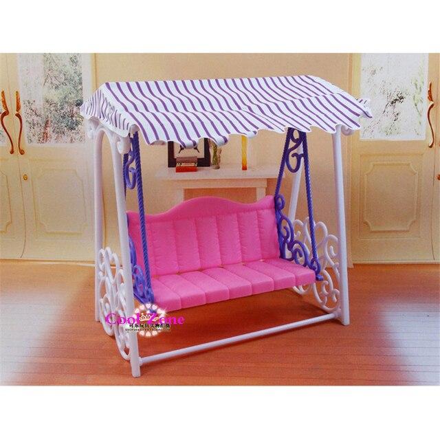 Miniature furniture my fancy life garden swing set for for Mini swing set