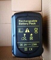 Melhor v 2500 mah da bateria ferramenta de poder para Dewalt 24 DC222KA DC222KB DC223KA DC223KB DC224KA DC224KB DW004 DW004K DW004K-2DW004K2C