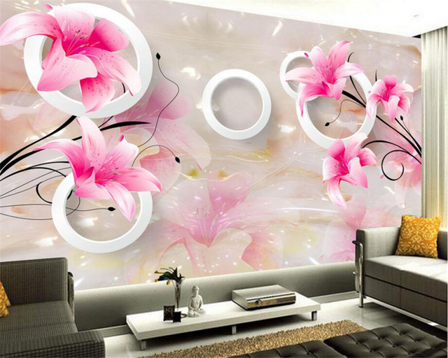 Beibehang 3D Wallpaper Marble Texture 3D Stereo TV Background Wall ...