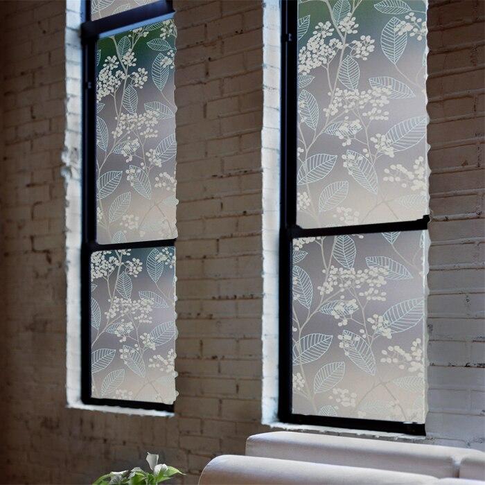 50x92 cm frosted glas film raamstickers statische matte glasfolie ...