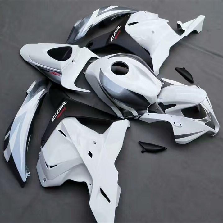 CBR600RR White Injection Fairing Kit For Honda CBR 600RR CBR 600 RR 2009 2010 2011 2012 Motorcycle Bodywork Fairings UV Painted