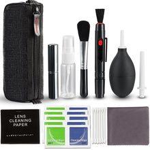 Professional Digital Camera Cleaning Kit lens Brush Hair Dryer Wipes for Canon Sony SLR Filter Tool