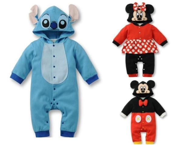 One Piece Baby Romper Jumpsuit for Girl Boy Overall Cute Cartoon Costume Spring Autumn 2016 Newborn Bebe Clothing Kids Clothes hooyi cartoon hooded rompers ropa mickey bebe long romper baby boy girl clothing roupa infantil newborn jumpsuit recem nascido