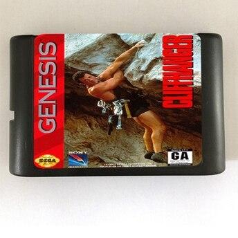 Cliffhanger - 16 bit MD Games Cartridge For MegaDrive Genesis console