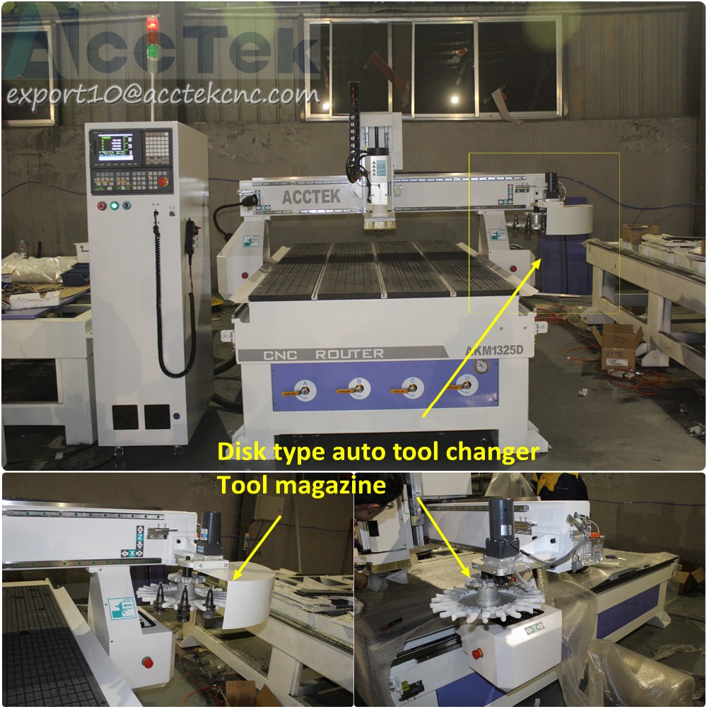 US $14600 0 |Manufacturers looking for distributor,cnc router servo wood  atc,cnc router with atc servo motor-in Wood Routers from Tools on
