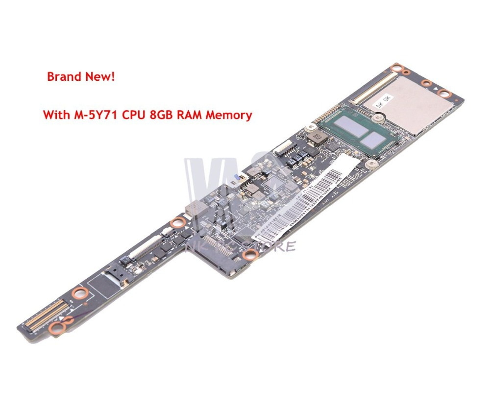 NOKOTION NEW For Lenovo Yoga 3 Pro 1370 Pro-I5Y70 Laptop Motherboard M-5Y70 CPU 8GB RAM 4B104212018 AIUU2 NM-A321 MAIN BOARD 7 6v 44wh 5790mah 4 cells l13m4p71 laptop battery for lenovo yoga 3 pro 1370 series yoga 3 pro 1l370 yoga3 pro 1370 computer