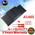 "Wholesale new   Laptop Battery For Apple MacBook Pro 13"" A1369 A1466 A1405  MC503 MC504 Free shipping"