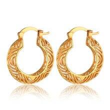 Pendientes de aro grandes de doble círculo para mujer, Color dorado, joyería de boda para oficina, gran oferta