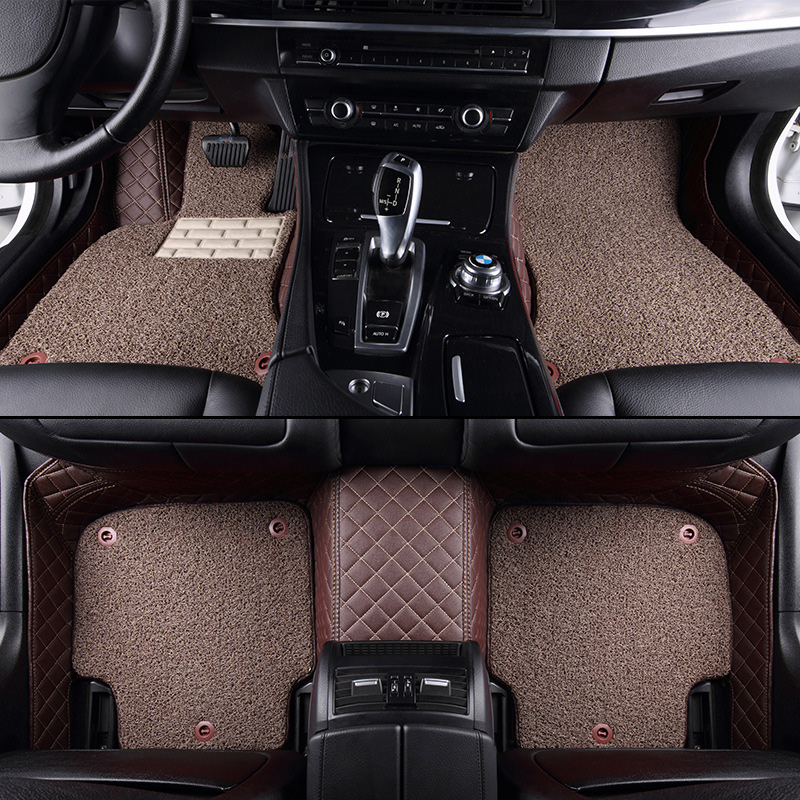 Coverking Custom Fit Front Floor Mats for Select Mitsubishi Endeavor Models Nylon Carpet Black
