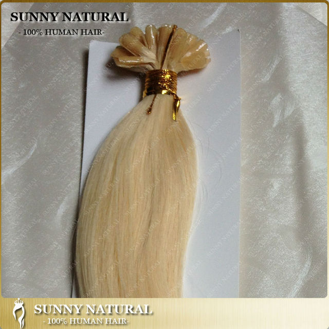 Wholesale Cheap Nail Hair Extension Straight Virgin Russian U Tip