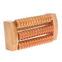Wooden Foot Massage Roller Feet Plantar Fasciitis Reflexology