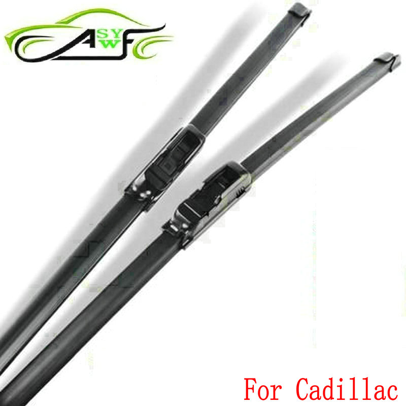 Car wiper blade for Cadillac CTS Escalade XLR XTS SRX Soft Rubber 2pcs/PAIR