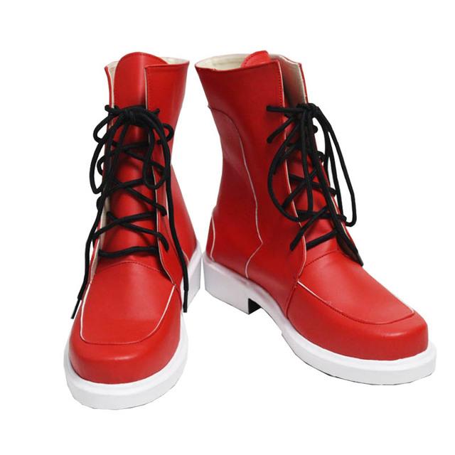 Boku No Hero Academia Shoes Izuku Midoriya Costume Red Boots