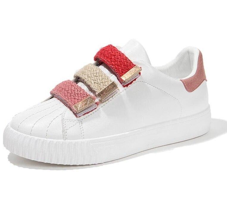 Boucle Crochet rose Chaussures Dames Bout Rond Solide Blanc Respirant Femmes De Coudre À Massage Sneakers Casual Tissu Bleu EtT1Snxwqx