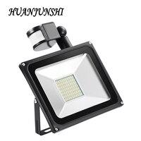 50 Wát Tìm Kiếm Ánh PIR Motion Sensor AC 220 V Cảm Ứng Dẫn Lũ Light IP65 CHỐNG Nước Dẫn Ánh Sáng Đường Phố Chiếu Ngoài Trời Đèn LED