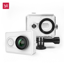 YI Action Camera 1080P With Waterproof Case 16.0MP 155 degree Ultra-wide Angle 3D Noise Reduction WiFi Sports Mini Camera