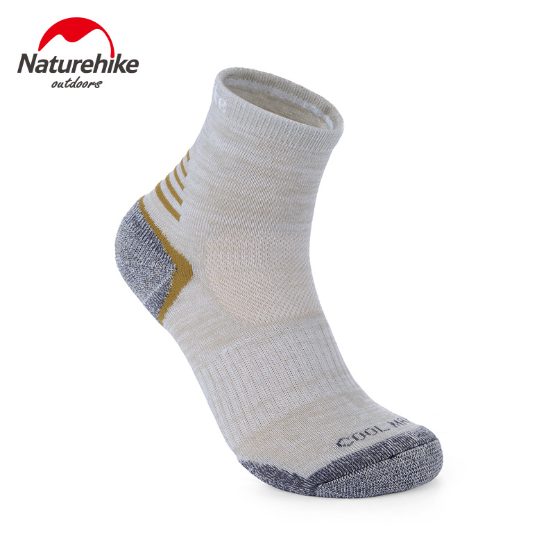 Naturehike 4pairs Mens and Womens Hiking Socks Coolmax Sport Summer Quick-drying Socks N ...