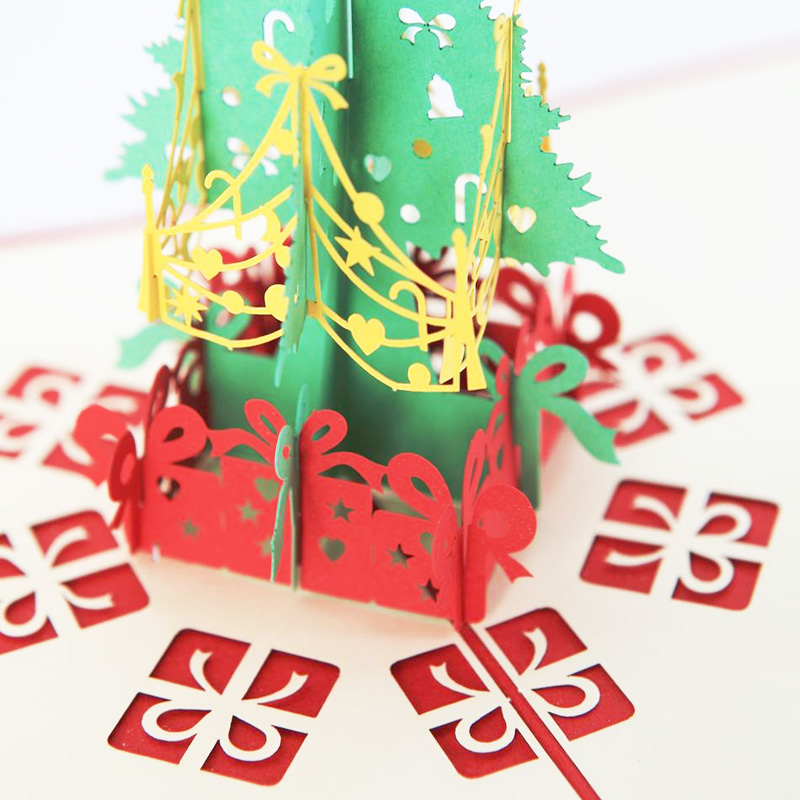 3d Pop Up Christmas Cards Postcard Pop Pop Card Greeting Thank You ...
