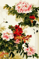 Acrylic By Numbers Beautiful Peony Unique Gift Frameless Picture On Wall Paint By Numbers Diy Oil
