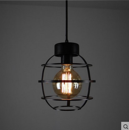 Edison Loft Style Vintage Lamp Industrial Pendant Light For Dinning Room,Lamparas Lustres De Teto Techo Colgante vintage loft industrial edison flower glass ceiling lamp droplight pendant hotel hallway store club cafe beside coffee shop