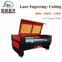 Co2 лазерной гравировки, резки 1610 130 Вт лазерный резак машины DIY ЧПУ гравировки металла машина для вырезания стекла