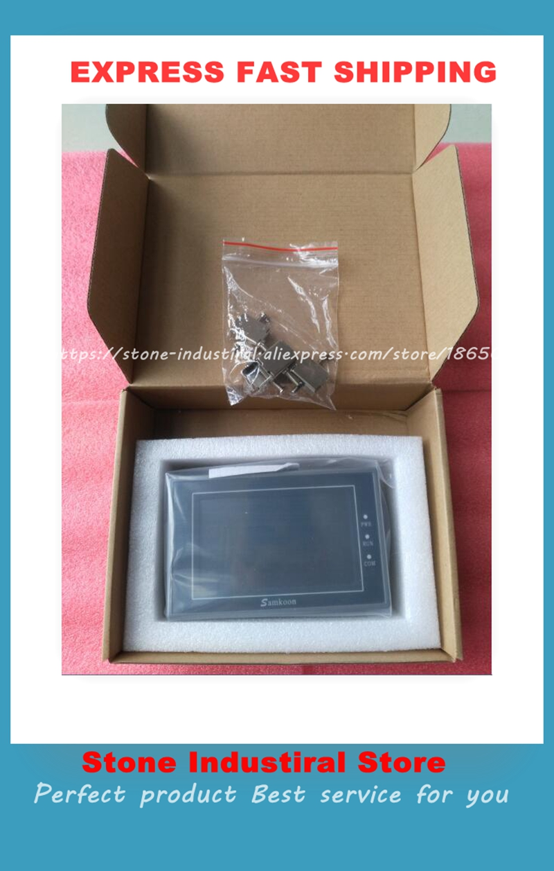 4.3 inch 480*272 ea-043a Touch Screen Operator Interface Panels EA-043A HMI Perfect Quality buy it diretly 1pcs lot stk621 043a stk621 043a module90 days warranty