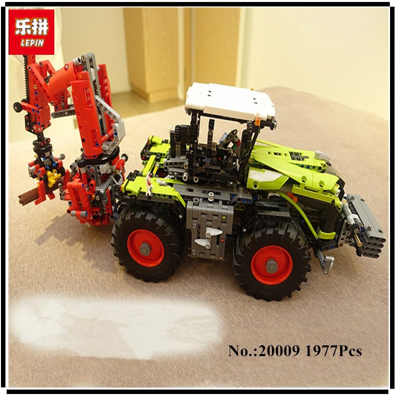 IN STOCK New 1977Pcs Lepin 20009 Technic Ultimate Series Mechanical Heavy Tractors Building Blocks Bricks Toys 42054 ветровка digel ветровка