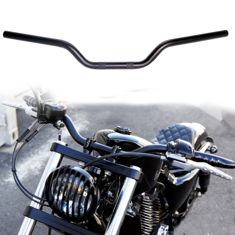 handlebars harley bars drag motorcycle davidson handlebar custom sportster bar shadow honda 1200 ace chopper tracker 883 cafe 25mm spirit