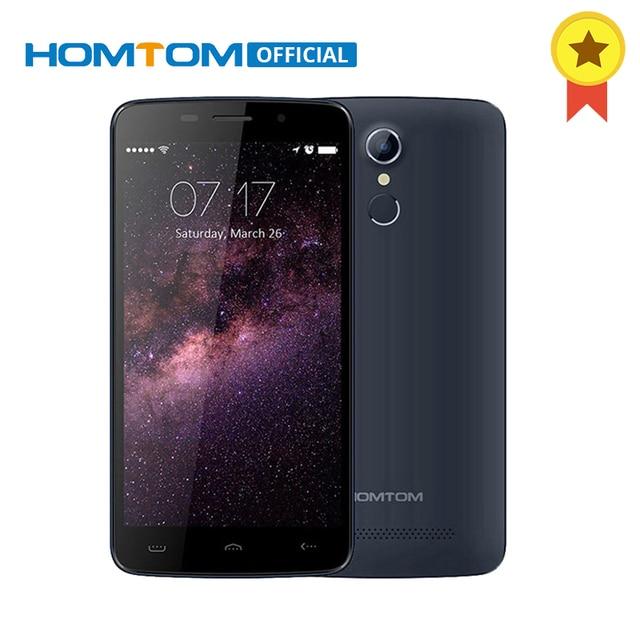 Doogee HOMTOM HT17 MTK6737 Quad Core 5.5 дюймов смартфон 1 ГБ оперативной памяти 8 ГБ ROM Android 6.0 сотовый телефон 3000 мАч отпечатков пальцев 4 г мобильного телефона