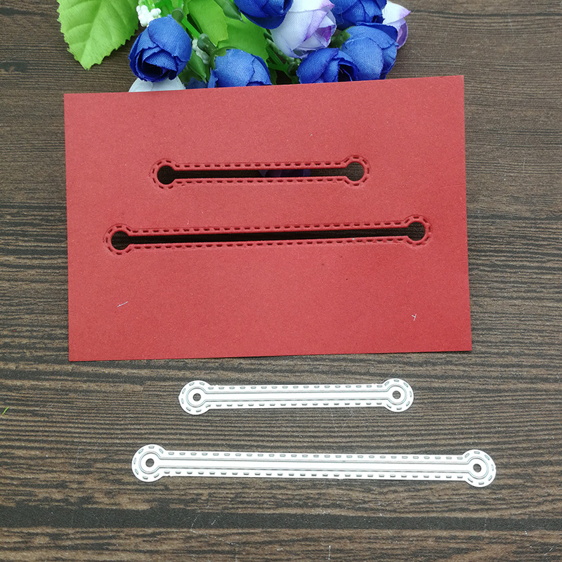 2pcs Metal Cutting Dies Stencil For DIY Scrapbooking Photo Album Embossing Paper Cards Crafts Die Cuts