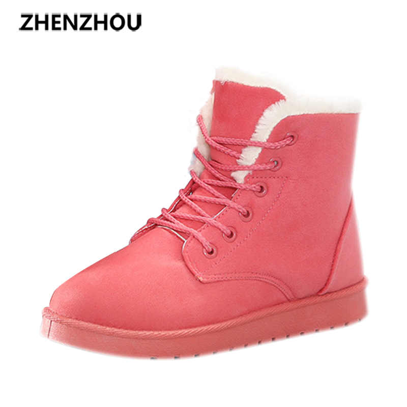 Free shipping Zhenzhou 2017 autumn/winter anti-slip snow boots winter shoe boots warm cotton shoes boots