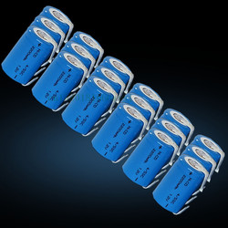 10X Ni-Cd 4/5 SubC Sub C 1.2V 2200mAh Rechargeable Battery with Tab - Blue Color Free Shipping