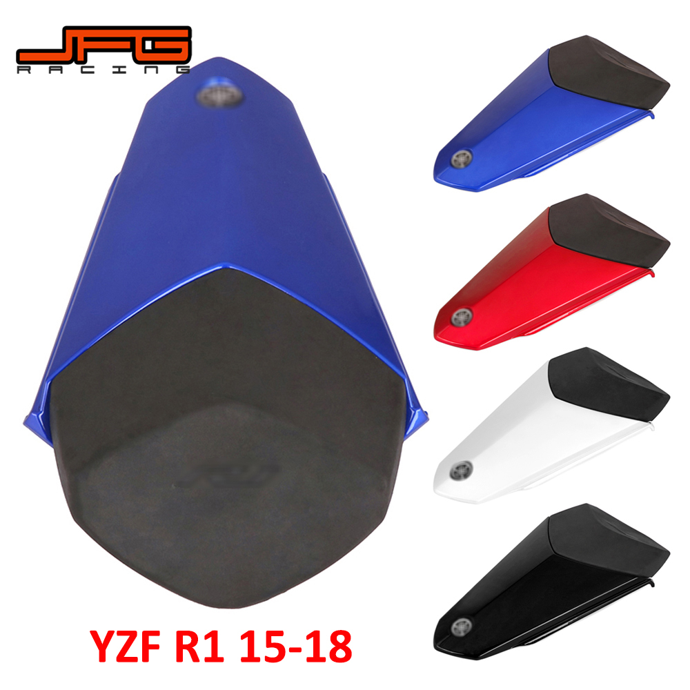 Motorcycle Red Blue White Black Rear Seat Fairing Cover Cowl Tail For YAMAHA YZF R1 YZFR1 YZF R1 2015 2016 2017 2018