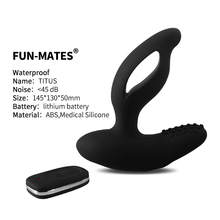 NEW Male prostata massager Anal sex toys for men Dual motor remote control electric vibrator Adult supplies