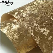 beibehang High-grade luxury ceiling wallpaper gold foil silver foil wallpaper living room ktv nightclub bar back wall paper