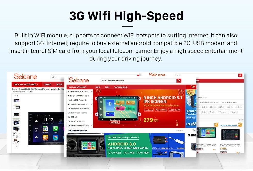 beste WIFI Technics Touchscreen 8