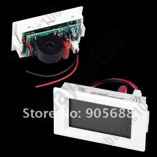 DDH-302 LCD Digital AC Volt Spannung Amp 2 in 1 Panel Meter Voltmeter Amperemeter 5-50A