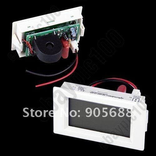 DDH-302 LCD Digital AC Volt Voltage Amp 2 in 1 Panel Meter Voltmeter Ammeter 5-50A