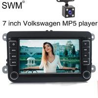 7 2 Din Car Radio for VW Volkswagen Golf 5 7 Auto Radio Stereo MirrorLink Reversing Camera Autoradio Radio Coche Bluetooth FM